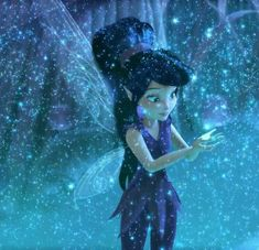 Disney's Fast Flying Fairy, Vidia, among the stars Tinkerbell And Friends, Tinkerbell Disney, Tinkerbell Fairies, Estilo Disney, Arte Disney, Disney And Dreamworks, Disney Pixar, Disney Faries, Iconic Characters