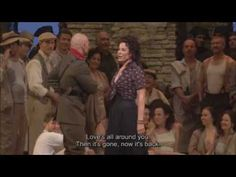 Carmen, holy cow is this HOT. Metropolitan Opera, would have loved to see this live.