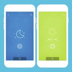 MUJI to Sleep is an app that simply lets you swipe through sounds to help soothe you to sleep.