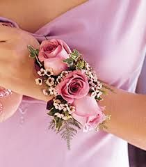 Rosebud corsage. how to make a corsage satin wristlet - Google Search
