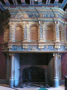 Old World, Blois, Stone Fireplaces, Home Decor, Apartments, Decoration Home, Room Decor, Home Interior Design, Home Decoration