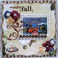 Anderjackie's Gallery: Wonder(Fall) *My Creative Scrapbook*