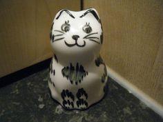 Studio pottery cat