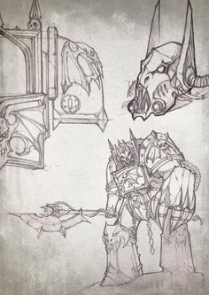 Page 1 of 2 - Count Mannfred, Night Lord in Terminator Armour - posted in + WORKS IN PROGRESS +: Count Mannfred, Night Lord in Terminator Armour The first option - the standard-bearer The second option - Battle terminator.