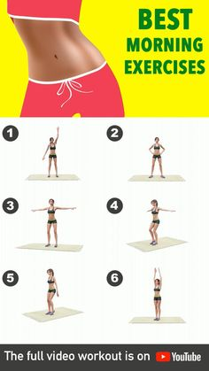 Fitness Workouts, Gym Workout Videos, Gym Workout For Beginners, Fitness Workout For Women, Fitness Tips For Women, Good Mornings Exercise, Morning Ab Workouts, Full Body Gym Workout, Weight Loss Workout Plan