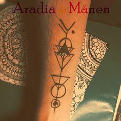 Henna Portfolio – Aradia Månen #hennatattoo