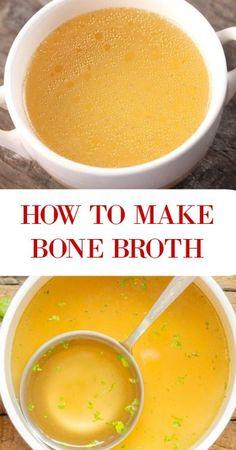 Make bone broth like a boss.  Easy instructions.