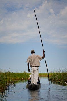Okavango Delta - Botswana - BelAfrique your personal travel planner… Out Of Africa, East Africa, Zimbabwe, Sierra Leone, Congo, Seychelles, Dugout Canoe, Kenya, Africa Continent