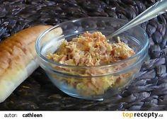 Chalupářská pomazánka recept - TopRecepty.cz Macaroni And Cheese, Oatmeal, Salads, Treats, Chicken, Breakfast, Ethnic Recipes, Food, Sandwich Spread