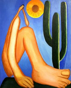 "Review of ""Abapuru"" of Tarsila do Amaral, By LM Studio. Pluto The Dog, Disney Characters, Character"