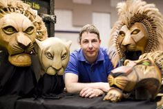 Michael Reilly is the puppet supervisor for 'The Lion King,' which comes to the Bass Concert Hall starting Jan. 16. Photo Credit: Selena Moshell