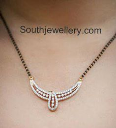 Provids large variety of gold jewellery supplies, traditional Good Ornament for mothers. Diamond Mangalsutra, Gold Mangalsutra Designs, Gold Necklace Simple, Gold Jewelry Simple, Beaded Jewelry, Gold Jewellery, Jewelry Design, Ornament, Jewellery Supplies