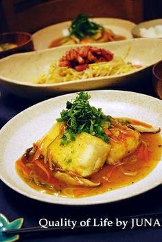 ヘルシー☆あんかけ豆腐ステーキ|レシピブログ
