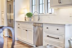 A Luxuriously Grand Kitchen Design — Toulmin Cabinetry & Design