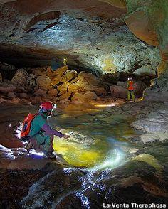 Imawarí Yeutá - La recién descubierta cueva en el cerro Auyantepuy en la Gran Sabana, Venezuela