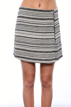 Eight Sixty Mini Skirt | Chloe Rose Boutique