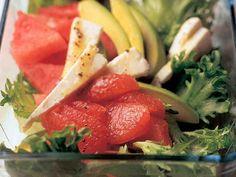 Lounassalaatti Cantaloupe, Watermelon, Fruit, Food, Essen, Meals, Yemek, Eten