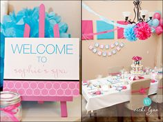 Sophie's Spa Party {Chandler Birthday Party Photographer} » Vicki Lynn Photography