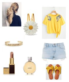 Fun in the sun by hannah05k on Polyvore featuring polyvore, fashion, style, Topshop, American Eagle Outfitters, Charlotte Olympia, Tom Ford, Chanel and clothing