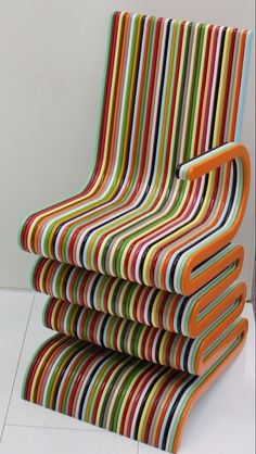 Colourful Chair, amazing design