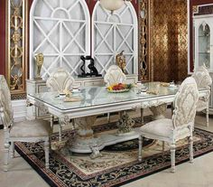 high end dining room furniture. High Quality Tempered Glass Square Dining Room Table,fashion Table Wooden Carving Leg End Furniture
