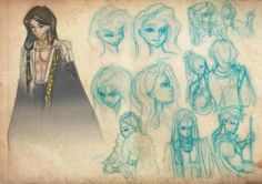 Young Elites Character Sketches