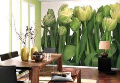 Фотообои. Тюльпаны.