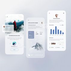 """TRIBE UI on Instagram: """"Follow @tribe.ui for daily design inspirations. By @yili0909 /* Tag a friend */ Tag #tribeui"""" User Experience Design, App Ui Design, Ui Kit, Mobile Design, Climbers, User Interface, Mobile App, Product Launch, Design Inspiration"""