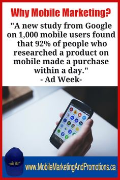 Get my Free EBook: Mobile Marketing For Local Business Go Here: https://lnkd.in/ePNEQss