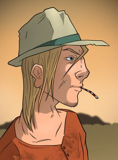 Skinner Sweet, Comic Book Characters by Rui Tavares, via Behance