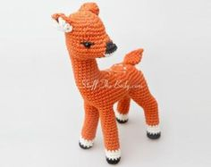 Andy The Fawn Amigurumi Pattern