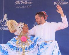 Gala de Festival delas más de mil pollera. Panamá 14 de enero de 2017.❤❤