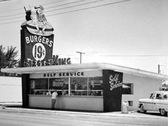 Burger King: The predecessor of this burger mega-chain was originally founded in 1953 in Jacksonville, Fla., by relatives Keith J. Kramer and Matthew Burns. They decided to call their first location Insta-Burger King due to the broilers they purchased to cook the burgers, called Insta-Broilers. The following year, James McLamore and David Edgerton began opening Insta-Burger franchises in Miami — they replaced the Insta-Broilers with the flame broiler system that Burger King is famous for…