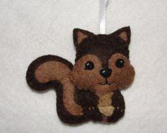 Resultado de imagen de felt squirrel