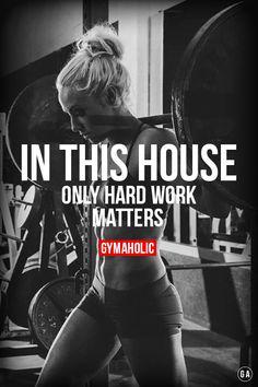 gymaaholic:  Hard work. More motivation ->http://www.gymaholic.co/motivation