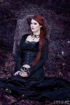 autumn cemetery II by Lycilia.deviantart.com on @deviantART