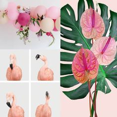 08⎥16 moodboard aureliedhuit.com #moodboard #tendance #August #août #inspiration #design #graphic #graphisme #flowers #fleurs #tropic #tropical #feuille #leaf #balloon #ballon #flamant #flamingo #rose #pink #neon #fluo #noir #black #couleurs #colors #miami Image Pinterest, Inspiration Design, Ballon, Art Director, Graphic, Decoration, Miami, Photoshoot, Texture