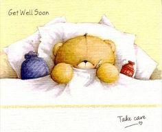 Orsetto ammalato
