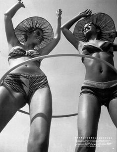 Hula Hoop - time to pull it out of the closet. (bikini's not required)