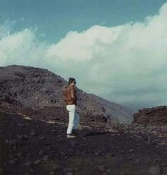 Pasolini sull'Etna