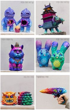 Remjie Malham cover ToyCon UK with colorful customs galore!!!