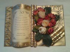Gratulácia k 50 tke Manado, Book Gifts, Homemade, Day, Tractor, Cover, Books, Grow Old, Libros