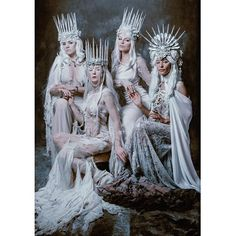 Magical & Fantasy Art, Photography & Design/Court of the Wynter Witches - Jessica Dru/Chad Michael Ward Photography Ice Queen Costume, Character Inspiration, Character Design, Illustrator, Creature Of Habit, 3d Fantasy, Fantasy Photography, Halloween Disfraces, Snow Queen