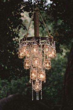 The only kind of chandlier i would have in my house!