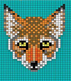 free knitting pattern | Tumblr.  FOX chart