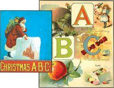 CHRISTMAS A.B.C. |CHRISTMAS A.B.C.  ABC. (CHRISTMAS) CHRISTMAS A.B.C.. Newark: Charles Graham, no date, circa 1900. - See more at: http://www.alephbet.com/pages/books/36427/christmas-a-b-c#sthash.DiRHGO0v.dpuf