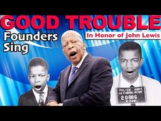 GOOD TROUBLE (In Honor of John Lewis) - By Founders Sing - YouTube Give Me Your Tired, Comedian Videos, The New Colossus, Parody Videos, Original Song, Tsunami, Jukebox, John Lewis, Comedians