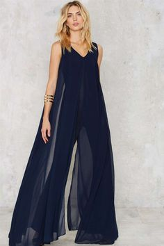 Lavish Alice Float On Flare Jumpsuit - Navy - Rompers + Jumpsuits Party Shop Best Sellers Going Out Midi + Maxi Women's Fashion Dresses, Dress Outfits, Jumpsuit Dressy, Jumpsuit Outfit, Black Jumpsuit, Gorgeous Prom Dresses, Lavish Alice, Jumpsuits For Women, Dance Outfits