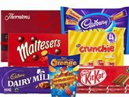 Chocolate Multipacks & bags, boxes & tins from all the favourites brands. Cadburys, Nestle, Guylian, Lindt, Thornton's & more...