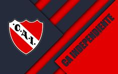 CA Independiente of Argentina wallpaper. Argentina Wallpaper, Club, Football Wallpaper, Fantasy Football, Material Design, Red And White, Argentina Football, Illustration, European Football
